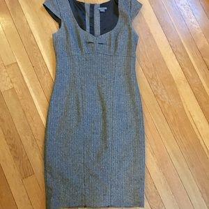 Dresses & Skirts - A/X Armani Exchange Heather Grey cap sleeve dress
